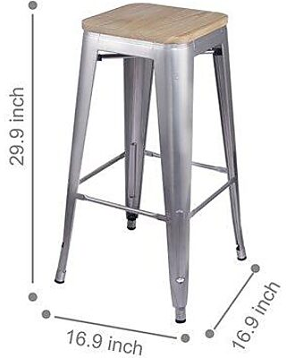Fabulous 17 Stories 17 Stories Kade 30 Bar Stool W001296712 From Uwap Interior Chair Design Uwaporg