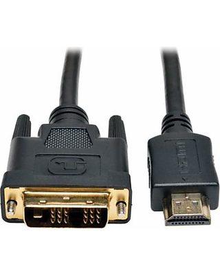 Tripp Lite, TRPP566006, 6' HDMI/DVI Cable, 1, Black