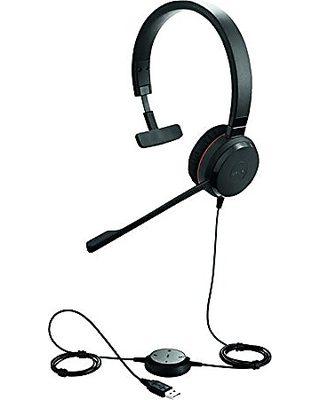 Jabra Jabra 2399 829 119 Biz 2300 Usb Uc Duo Wired Headset On Ear Black From Amazon Com Homecinemachoice