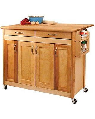 Catskill Craftsmen Catskill Craftsmen Kitchen Island with ...