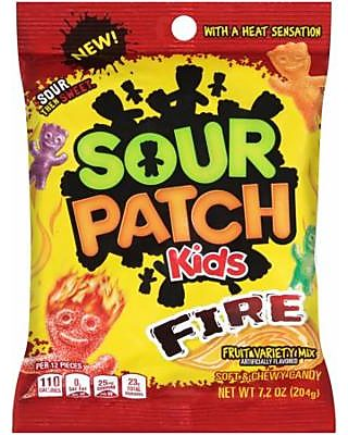 Sour Patch Kids (3 Pack) Sour Patch Kids, Fire Soft & Chewy
