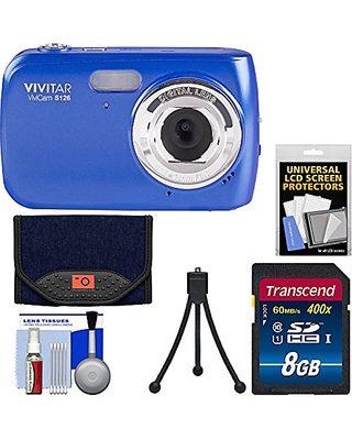 Vivitar Vivitar Vivicam S126 Digital Camera Blue With 16gb Card