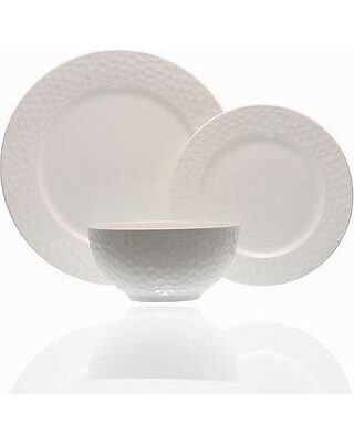 Red Vanilla FY900-905 5 Piece Yardley Place Setting White