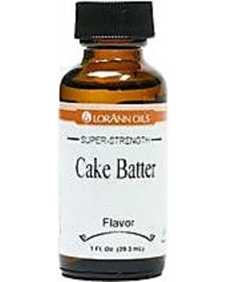 Cake Batter LorAnn Hard Candy Flavoring Oil 1 oz