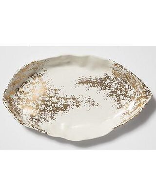 Vietri Vietri Scattered Matte Oval Decorative Plate Scg 2225