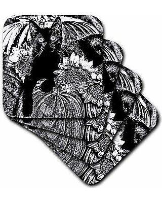 Set of 4 3dRose cst/_21705/_3 San Francisco Palace of Fine Arts Ceramic Tile Coasters