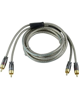 3.5mm Male RCA A//V 4pk ACCL 3ft Camcorder Cable