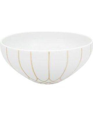 Elle D/écor 6830-4BWL Monique Kitchen Bowls White