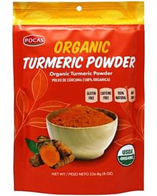 Pocas Pocas Organic Turmeric Powder 8 Ounce Pack Of 2 From