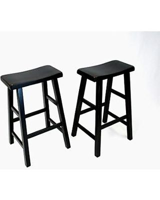 Enjoyable Ehemco 29 Bar Stool Set Of 2 Uwap Interior Chair Design Uwaporg