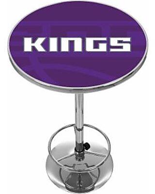 Incredible Sacramento Kings Chrome Pub Table Purple Andrewgaddart Wooden Chair Designs For Living Room Andrewgaddartcom