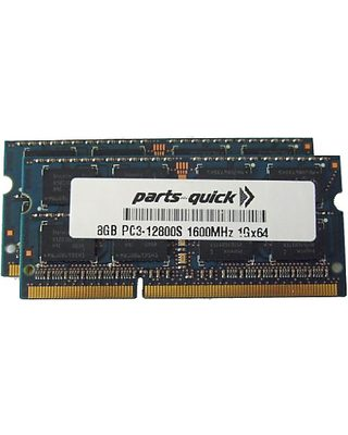 Parts-quick 16GB Kit 2 X 8GB Memory Upgrade For HP Omni 27