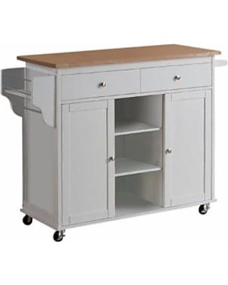 Find The Best: Baxton Studio Kitchen Islands & Carts ...