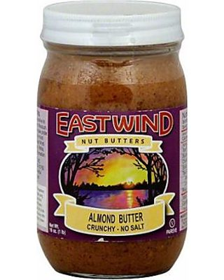 East Wind Nut Butters East Wind Nut Butters Crunchy No Salt