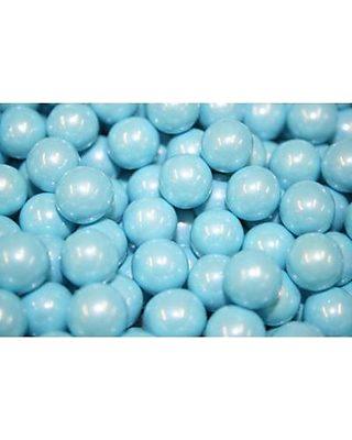 BAYSIDE CANDY SIXLETS SHIMMER POWDER BLUE, 5LB