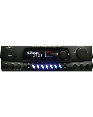 Waterproof 6 Channel Wireless Bridgeable Audio Amp for Stereo Speaker with 2000 Watt Power Dual MOSFET Supply Pyle PLMRA630BT Sound Around GAIN Level and LED Indicator 2.1 Bluetooth Marine Amplifier Receiver