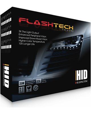 Flashtech D3 Bulb Size Premier 32V HID Headlight Replacement Kit -5000K