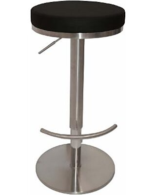Excellent Lotus Bar Stool Black Onthecornerstone Fun Painted Chair Ideas Images Onthecornerstoneorg