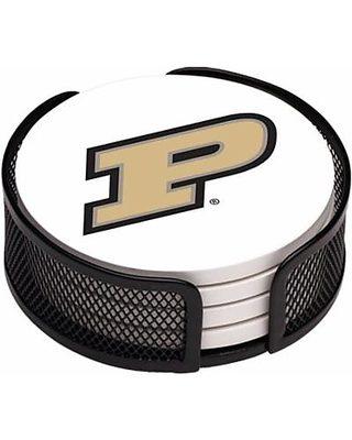 Thirstystone Drink Coaster Set Purdue University