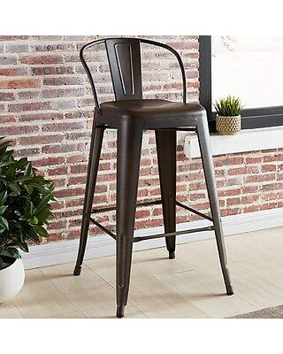 Enjoyable Gracie Oaks Lucinda 25 59 Bar Stool Grks3021 Gmtry Best Dining Table And Chair Ideas Images Gmtryco