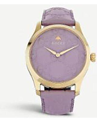 Ya1264098 G-timeless Yellow-gold Pvd Watch - Metallic - Gucci Watches