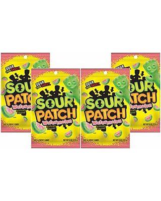 Sour Patch Kids (4 Pack) Sour Patch Kids Watermelon Soft