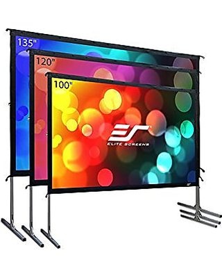 "100/"" /& 120/'/' Portable Foldable Projector Screen 16:9 HD Home Theater 3D Movies"