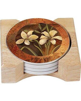 Set of 4 3dRose cst/_6303/_3 Siamese Cat Four Attitudes Design Ceramic Tile Coasters