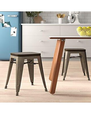 Fabulous Zipcode Design Alyssa 18 Bar Stool Zpcd6122 Gmtry Best Dining Table And Chair Ideas Images Gmtryco