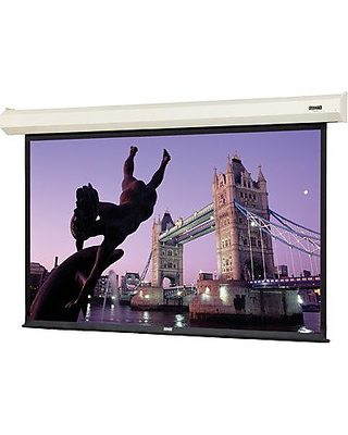 Cosmopolitan Electrol Matte White Electric Projection Screen Viewing Area:  65