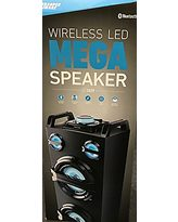 Sharper Image Sharper Image Wireless Led Mega Speaker From Amazon