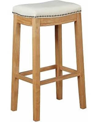 Awesome Linon Allure Bar Stool Andrewgaddart Wooden Chair Designs For Living Room Andrewgaddartcom