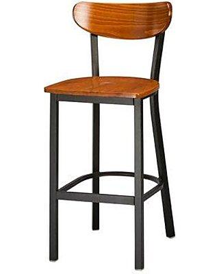 Pleasing Regal 30 Bar Stool 2511W Color Cherry Theyellowbook Wood Chair Design Ideas Theyellowbookinfo