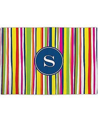 Carolines Treasures MW1237PLMT Young Voncile Still In High School Fabric Placemat Multicolor