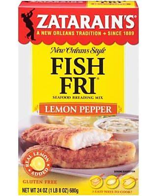Zatarain's (3 Pack) Zatarain's Lemon Pepper Fish Fri, 24 Oz