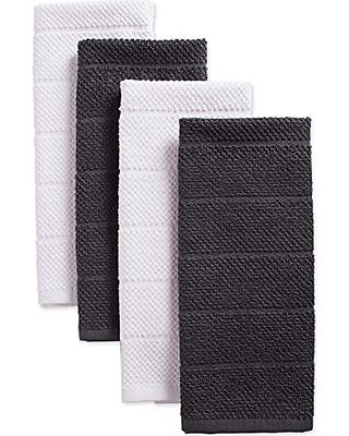 DII DII Cotton Luxury Chef Terry Dish Towels, 16x26\