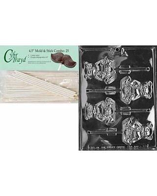Cybrtrayd Bk-A072 Honey Bear Lolly Animal Chocolate Candy Mold