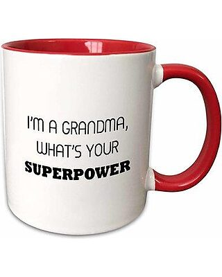 2 I/'m a Grandma What/'s Your Superpower Decals 20 Colors To Choose From PCS