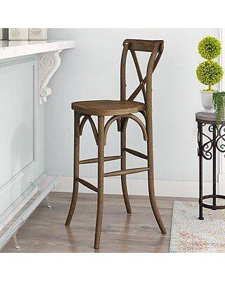 Outstanding Gracie Oaks Gracie Oaks Louie 30 Bar Stool Grcs4847 From Alphanode Cool Chair Designs And Ideas Alphanodeonline