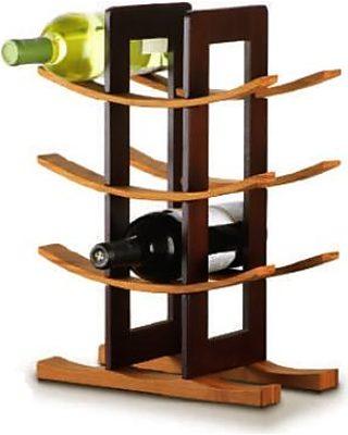 Anchor Anchor 98617 Wine Rack W/ 9-Bottle Capacity