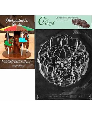 Cybrtrayd S050 Boxing Glove Lolly Chocolate Candy Mold with Exclusive Copyrighted Molding Instructions
